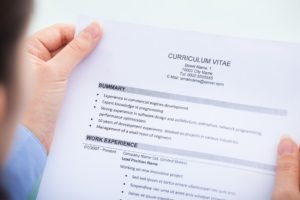 4 Dinge, die Arbeitgeber in deinem Lebenslauf suchen md