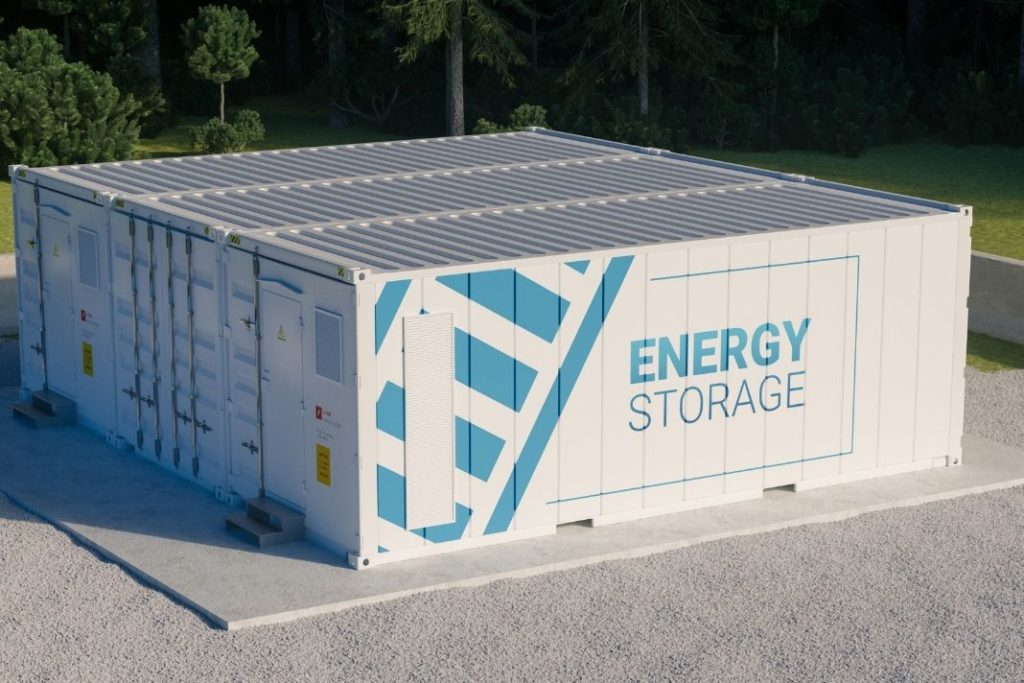 Ein Energiespeicher ist bei einer Inselanlage zwingend notwendig